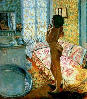 Pierre Bonnard, model in back light