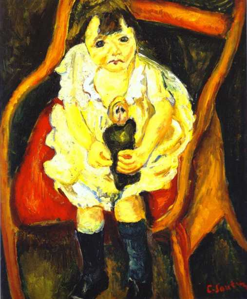 Chaim Soutine - Page 2 Soutine-little-girl